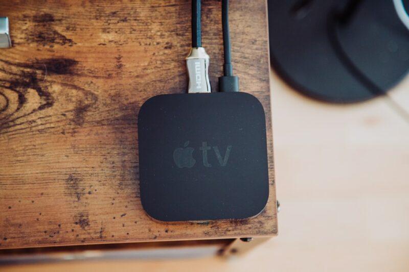 chromecast google tv apple tv app