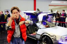 elektrische delorean back to the future