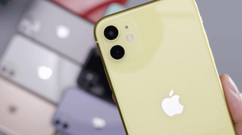 iphone met opvouwbaar scherm
