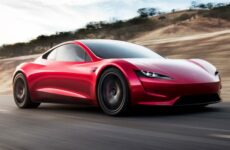 tesla roadster productie