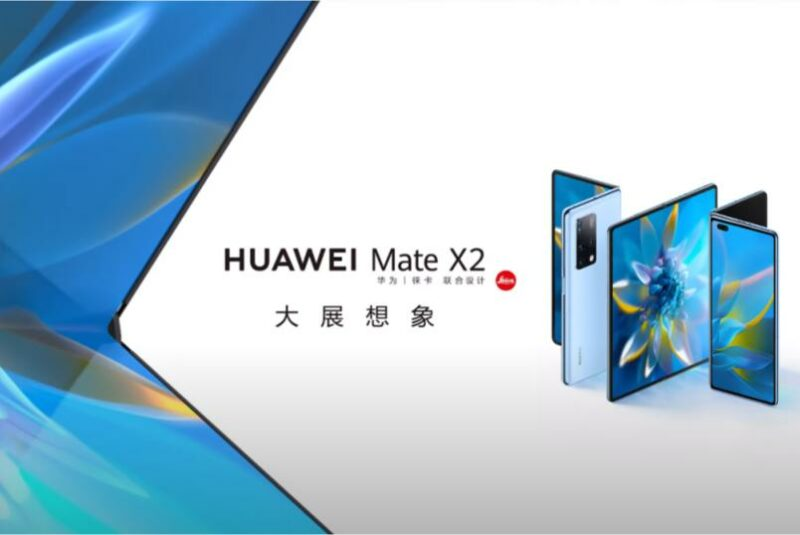 huawei mate x2 onthult