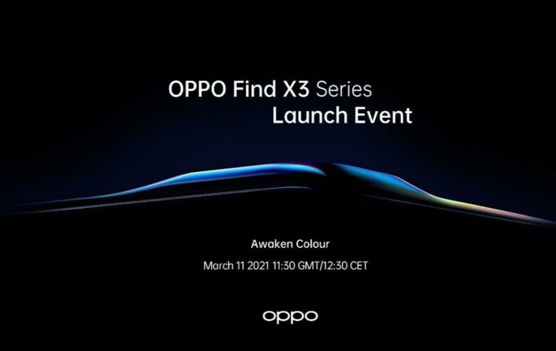 oppo find x3 release